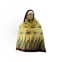 Shayla hijab scarf with paisley pattern