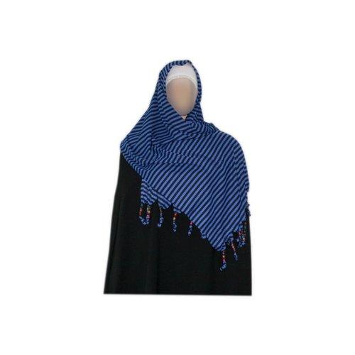 Kleiner Shayla Schal Hijab Blau