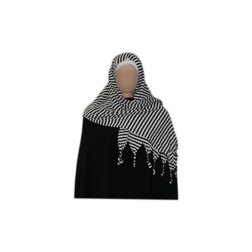 Little Shayla Scarf Hijab Dark White