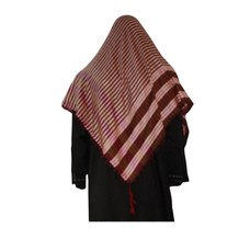 Large Scarf - Shimagh Red 120x115cm