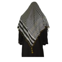 Large Scarf - Shimagh Shemagh in Yellow 120x115cm