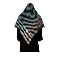 Large Scarf - Shimagh Black 120x115cm