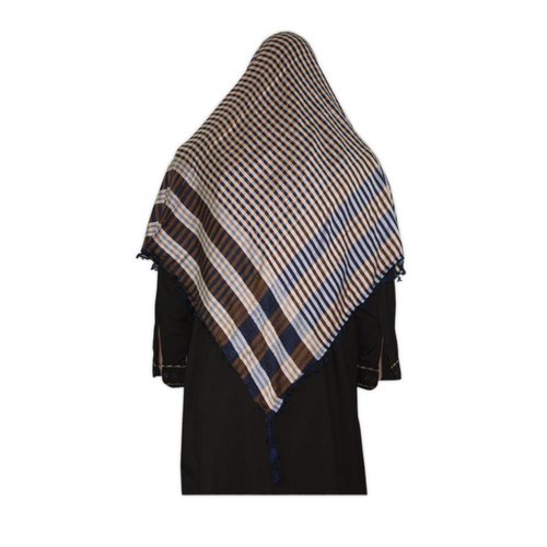 Large Scarf - Shimagh Blue 120x115cm