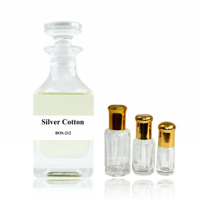 Oriental-Style Perfume oil Silver Cotton - Perfume free from alcohol