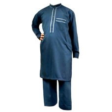 Children Salwar Kameez - Dark Blue
