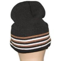 Kashmiri Mütze Warm - Doppellagig gestrickte Wintermütze Gr. M/L