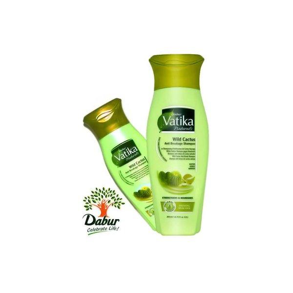 Vatika Dabur Naturals Shampoo Cactus - Gegen Spliss (200ml)
