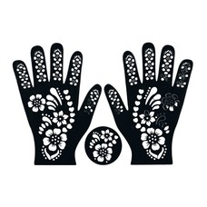 29 elegant henna muster schablone hand. Black Bedroom Furniture Sets. Home Design Ideas