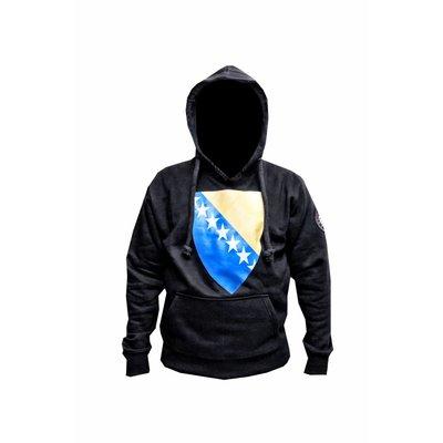313 Badr Kapuzen Sweatshirt Hoodie Bosnien Flagge