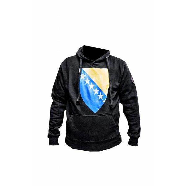 313 Badr Sweatshirt Hooded Hoodie Bosnia Flag