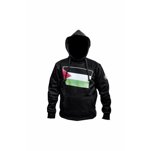 313 Badr Kapuzen Sweatshirt Hoodie Palästina Flagge