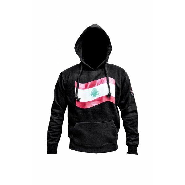 313 Badr Sweatshirt Hooded Hoodie Lebanon Flag