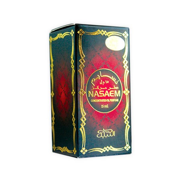 Nabeel Perfumes Concentrated perfume oil Nasaem 15ml - Perfume free from alcohol
