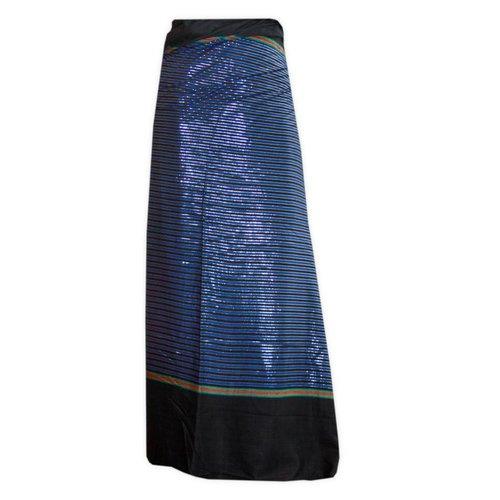 Traditional Dhoti-leg dress wrap dress