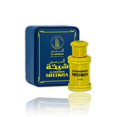 Al Haramain Concentrated perfume oil Sheikha 12ml - Perfume free from alcohol