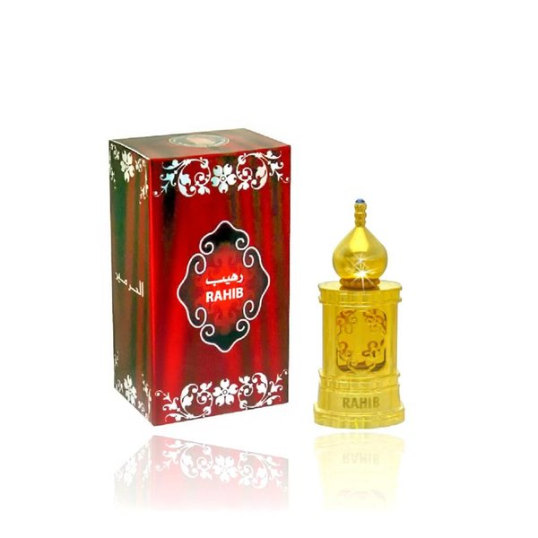 Al Haramain Concentrated perfume oil Rahib 15ml - Perfume free from alcohol