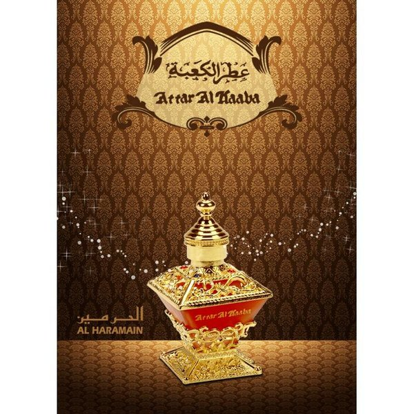 Al Haramain Concentrated perfume oil Attar Al Kaaba 25ml - Perfume free from alcohol