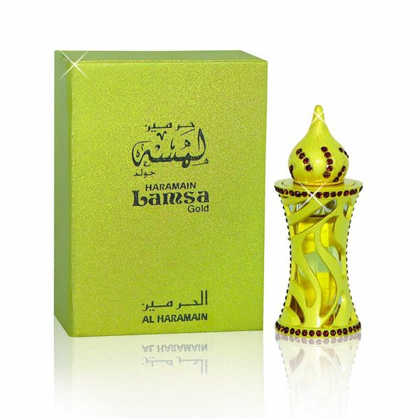 Al Haramain Concentrated perfume oil Lamsa Gold 12ml - Perfume free from alcohol