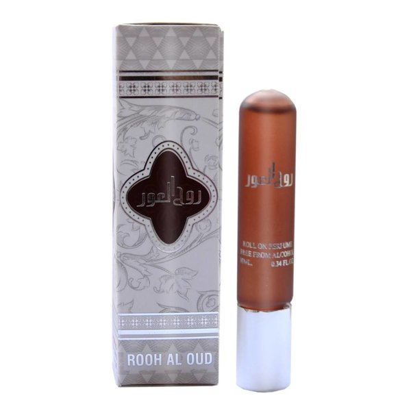 Ard Al Zaafaran Perfumes  Concentrated perfume oil Rooh Al Oud 10ml - Perfume free from alcohol