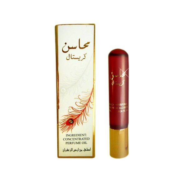 Ard Al Zaafaran Perfumes  Concentrated perfume oil Mahasin Chrystal 10ml - Perfume free from alcohol