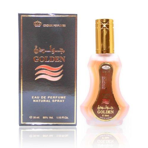 Al Rehab Perfumes Colognes Fragrances Golden Eau de Parfum 35ml Al Rehab Vaporisateur/Spray