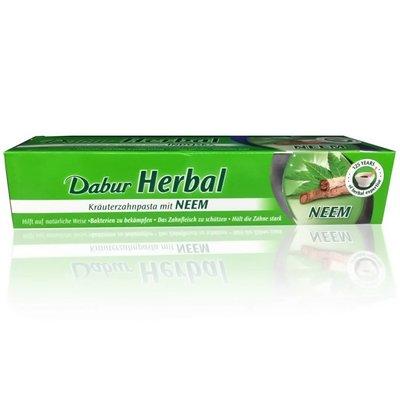 Dabur Neem Ayurvedic Toothpaste - Vegan, fluoride-free (100ml)