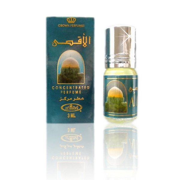 Al Rehab  Concentrated perfume oil Al Aqsa 3ml - Perfume free from alcohol