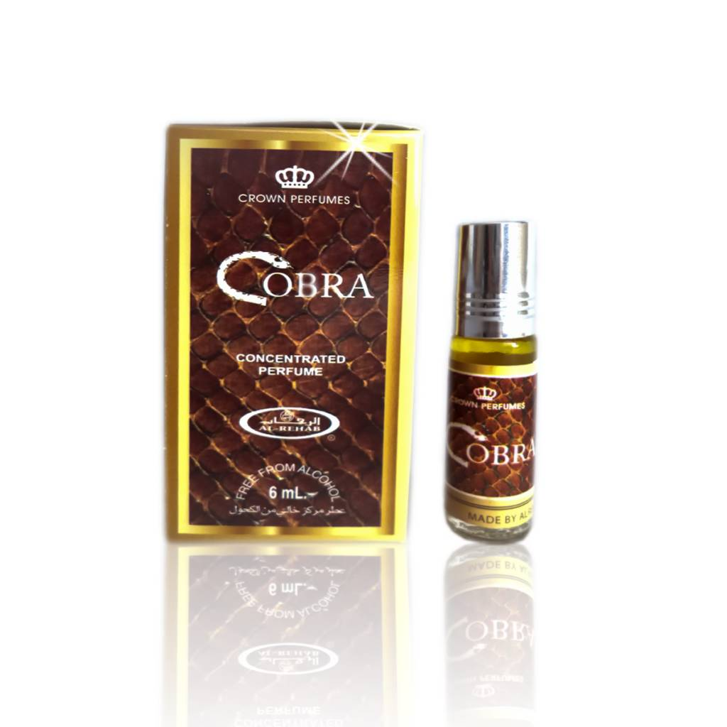 Al Rehab Cobra Perfume 6ml Perfume Oil Free From Alcohol