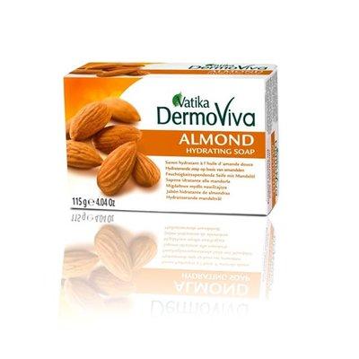Vatika Dabur DermoViva Almond Hydrating Soap (115g)