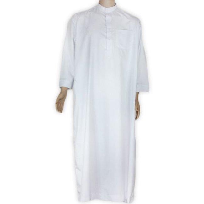Arabischer Anzug m. Stehkragen - Creme