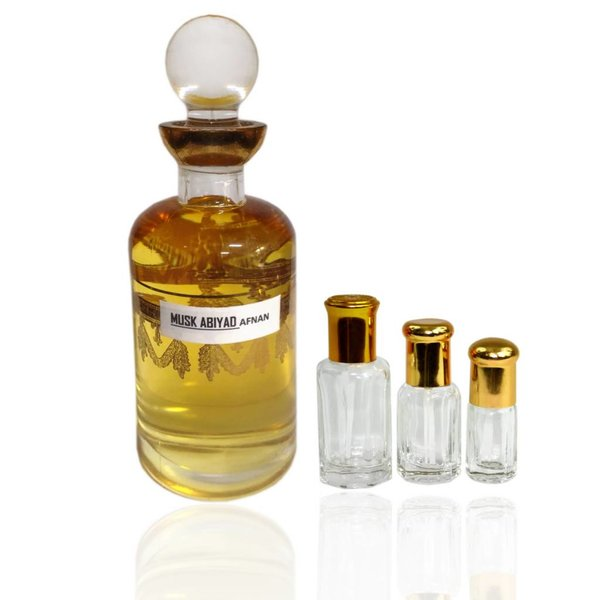 Afnan Konzentriertes Parfümöl Musk Abiyad - Parfüm ohne Alkohol