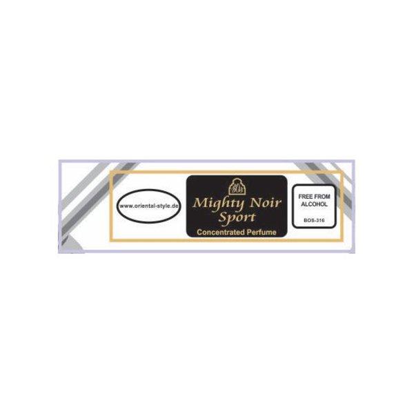 Swiss Arabian Parfümöl Mighty Noir Sport- Parfüm ohne Alkohol