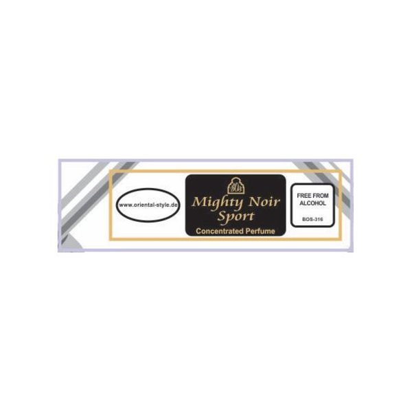 Swiss Arabian Perfume oil Mighty Noir Sport Perfume free from alcohol