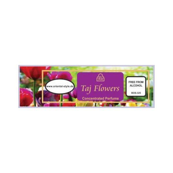 Swiss Arabian Concentrated Perfume Oil Taj Flowers - Perfume free from alcohol