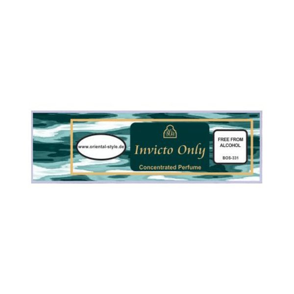 Swiss Arabian Perfume oil Invicto Only Perfume free from alcohol