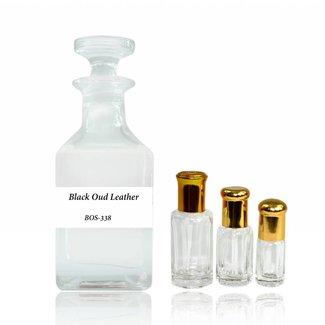 Swiss Arabian Perfume oil Black Oud Leather