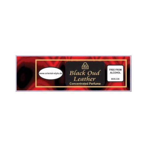 Swiss Arabian Perfume oil Black Oud Leather - Perfume free from alcohol