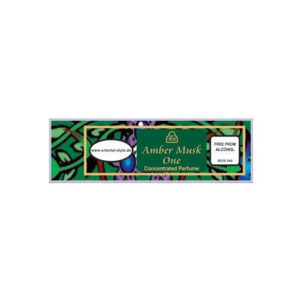 Swiss Arabian Konzentriertes Parfümöl Amber Musk One - Parfüm ohne Alkohol