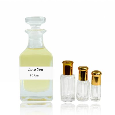 Anfar Konzentriertes Parfümöl Love You - Parfüm ohne Alkohol