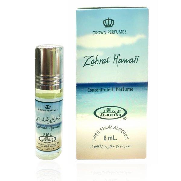Al Rehab Perfumes Colognes Fragrances Concentrated Perfume Oil Zahrat Hawaii by Al-Rehab 6ml