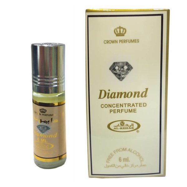 Al Rehab  Konzentriertes Parfümöl Diamond von Al-Rehab - Parfüm ohne Alkohol