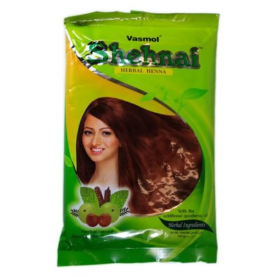 Herbal hair colour with henna and herbs Vasmol Shenai (150g)