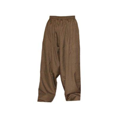 Arabische Männerhose Hose in Braun Meliert