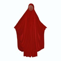 Butterfly Abaya in verschiedenen Farben - Beige, Rot