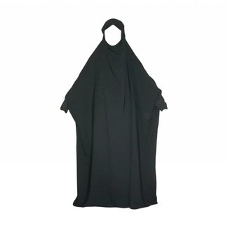 Overhead Abaya in black