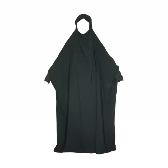 Overhead Abaya in black
