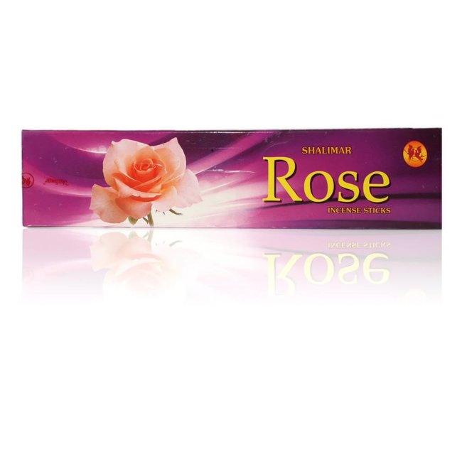 Shalimar Räucherstäbchen Rose (20g)