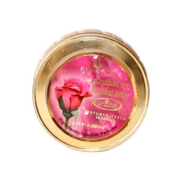 Al Rehab  Istanbul Rose Perfumed Cream Attar Cream 10ml