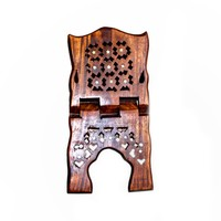 Quran stand bookend middle size wooden