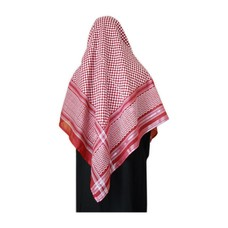 Large Scarf - Shemagh Bordeaux 134x134cm